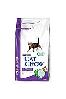 Cat Chow (Кет Чау) Special Care Hairball Control (Корм для виведення шерсті у кішок), 1.5 кг.