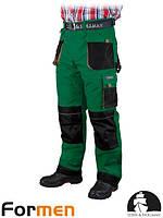 Брюки рабочие утепленные мужские серые FORMEN Lebber&Hollman Польша (штаны рабочие утепленные) LH-FMNW-T ZBS