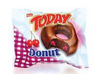 Пончики TODAY DONUT CHERRY 50гр