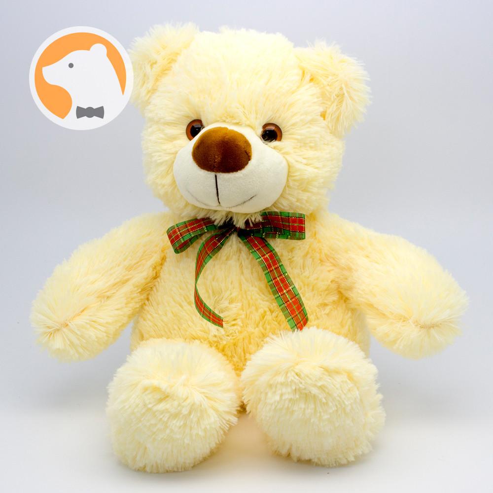 Плюшевый медвежонок Малыш кремовый, 30 см