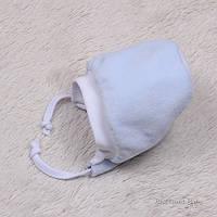 Утепленный велюровый чепчик для новорожденных Cool