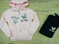 Теплый спортивный костюм для девочки . Размеры:122-128,128-134,134-140,140-146