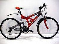 """Горный подростковый велосипед Azimut Shock 24""""GD"""