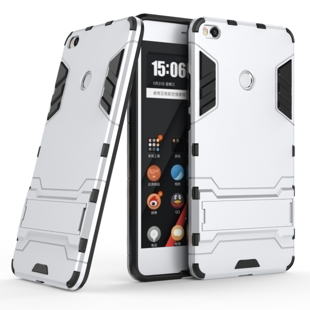 Чехол Xiaomi Mi Max 2 / Mi Max 2 Pro Hybrid Armored Case светло-серый