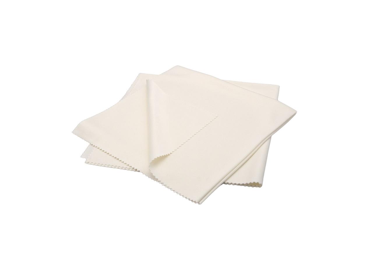 Набор полотенец шелковых для деликатных работ - Flexipads Pro-Glass Silk 40x40 см. 2 шт. белый (40540)