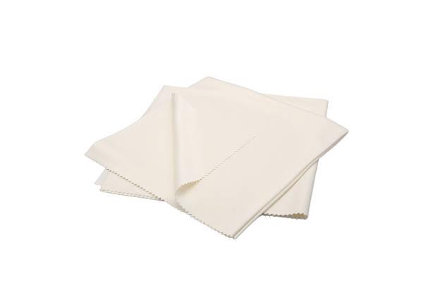 Набор полотенец шелковых для деликатных работ - Flexipads Pro-Glass Silk 40x40 см. 2 шт. белый (40540), фото 2