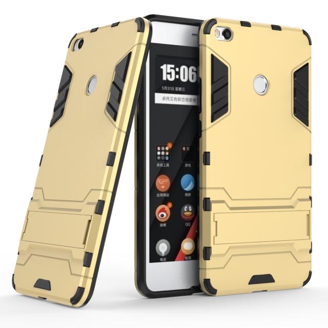 Чехол Xiaomi Mi Max 2 / Mi Max 2 Pro Hybrid Armored Case золотой