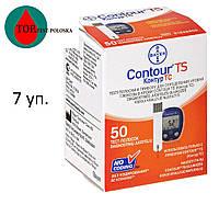Тест-полоски Contour TS №50 (Контур ТС) 7 упаковок