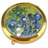 Зеркало Ван Гог «Ирисы»,d-7 см