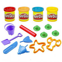 Ведерко с формочками набор лепки Play-Doh 23414
