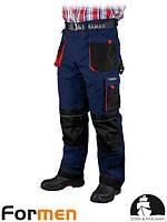 Штаны рабочие зимние мужские синие FORMEN Leber&Hollman Польша (штаны утепленные) LH-FMNW-T GBC