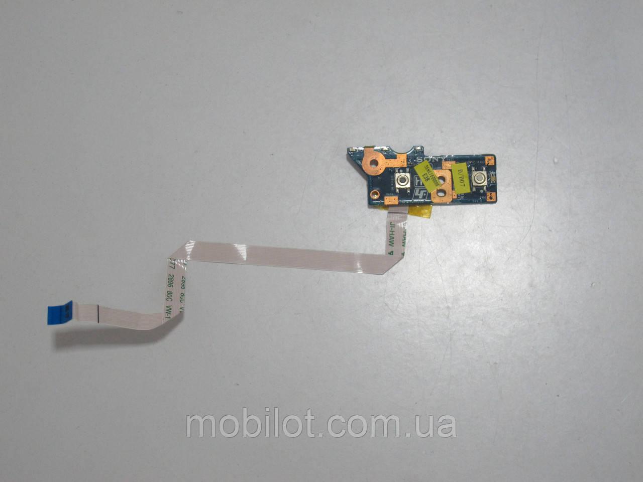 Кнопка включения Sony PCG-61611V VPCEE3E1R (NZ-4618)