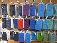 Оригинальный Silicon Case iPhone X 8 Plus 8 7+ 7 6S+ 6S 6+ 6 SE 5S 5 Силиконовый чехол для/на Айфон