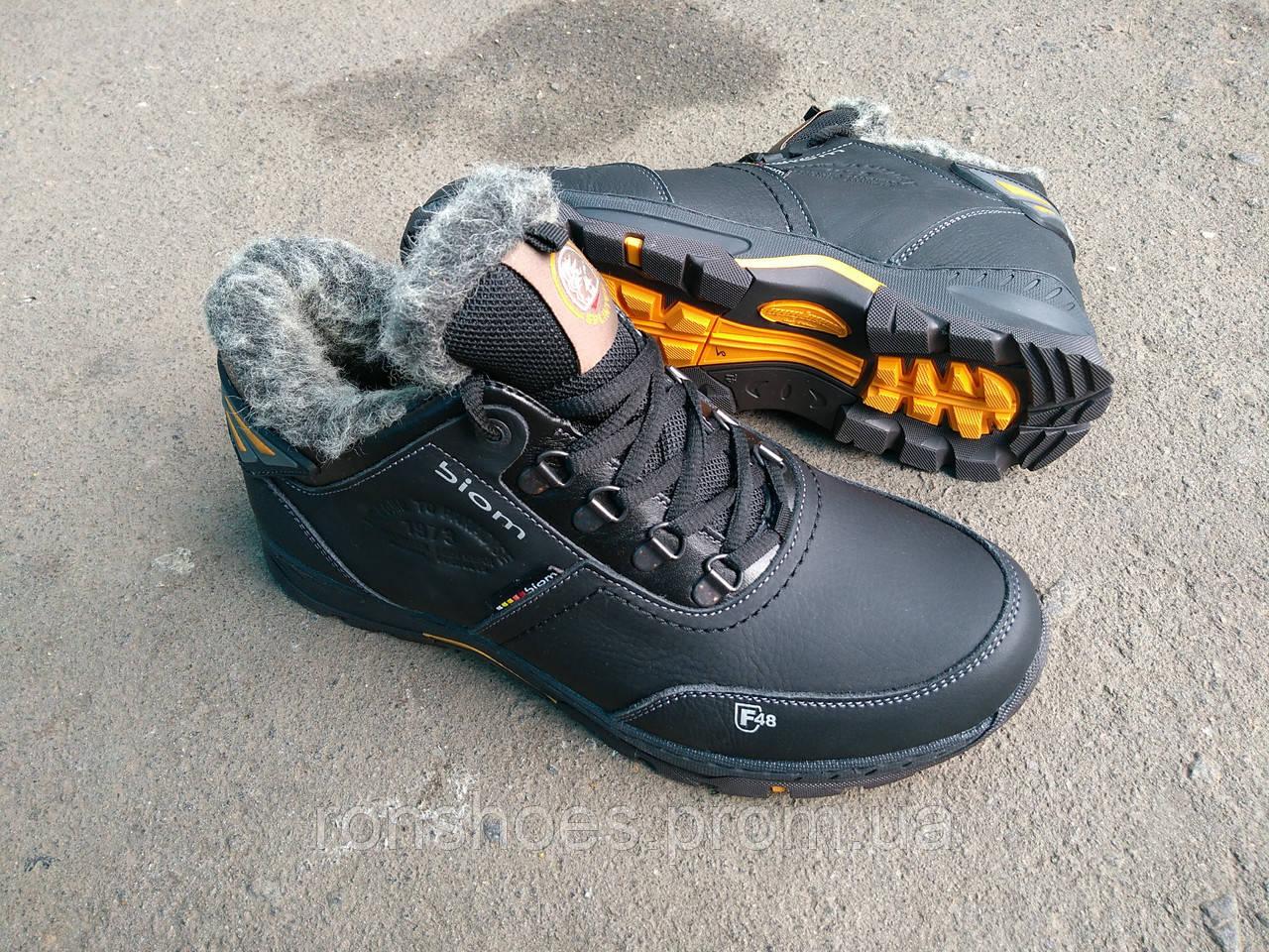 59187219 ... Мужские зимние спортивные кроссовки Splinter из натуральной кожи и меха,  ...