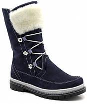 Зимние сапоги для девочки FS Сollection, сбоку на молнии,  размер 31-38