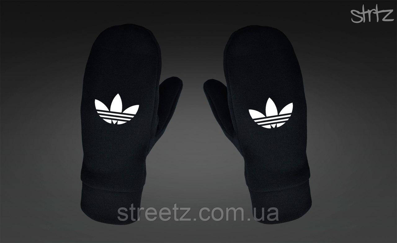Варежки Adidas Originals Fleece Mittens черные