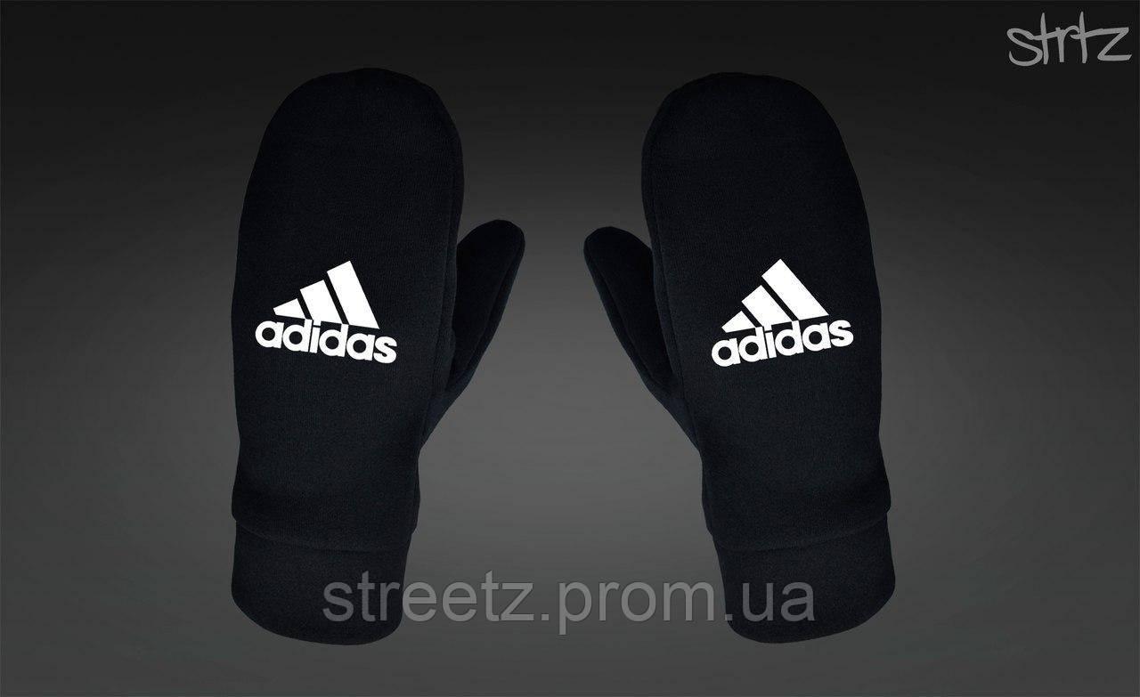 Варежки Adidas Perfomance Fleece Mittens черные