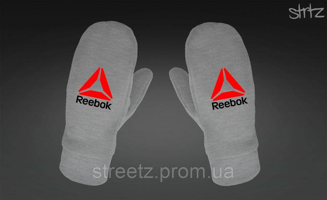 Рукавиці Reebok Crossfit Fleece Mittens сірі