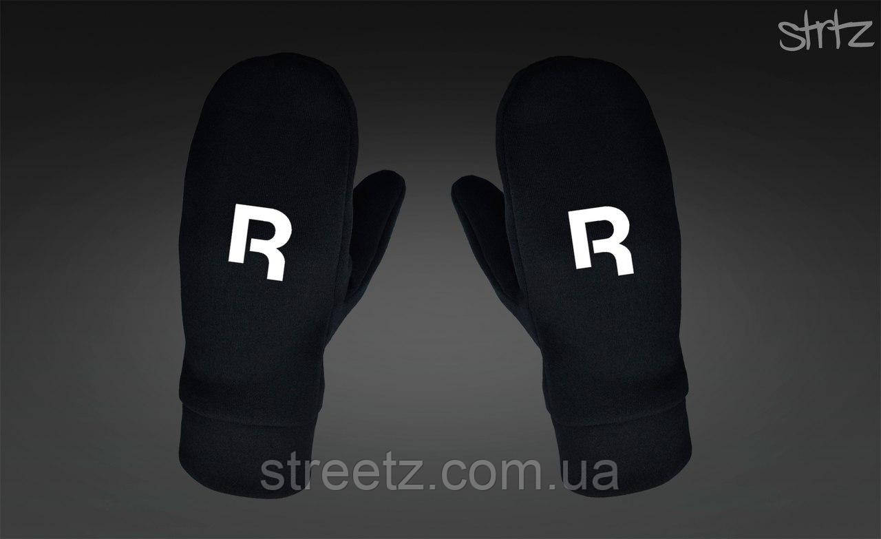 Рукавиці Reebok Classic Fleece Mittens чорні