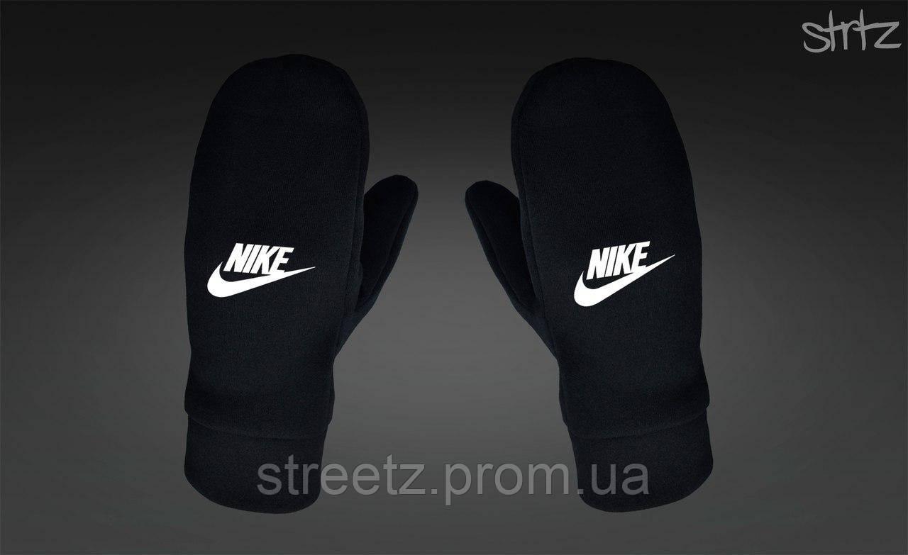 Рукавиці Nike Fleece Mittens чорні
