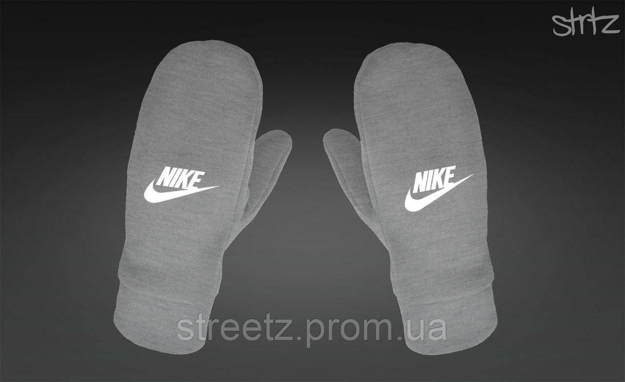 Рукавиці Nike Fleece Mittens сірі
