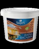 """Краска водно-дисперсионная фасадная Premium на силиконовой основе """"Supra"""""""
