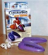 Электросушилка для обуви SHINE ЕСВ-12/220К Ультрафиолетовая, антибактериальная