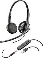 Гарнитура Plantronics Blackwire C325.1-M USB/jack 3.5 MS Lync колл-центр call-center