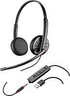Гарнитура Plantronics Blackwire C325.1-M USB/jack 3.5 MS Lync колл-центр call-center