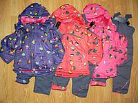 Костюмы( куртка +комбинезон) для девочек оптом, Crossfire 128 рр
