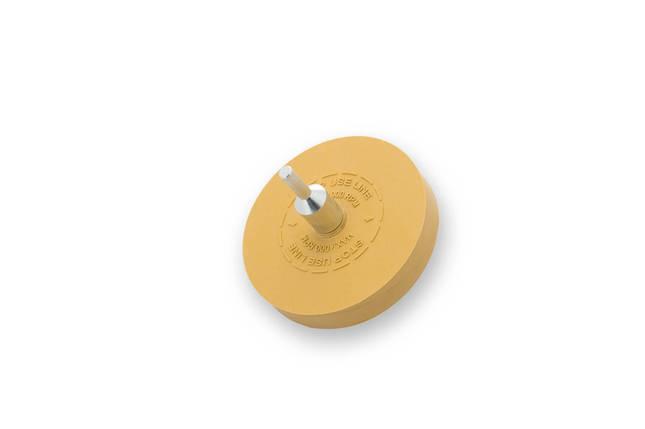 """Круг для зняття двостороннього скотчу - Flexipads Tape Erazer Wheel 88 мм (3.5"""") жовтий (TE300), фото 2"""