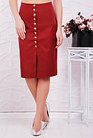 Женская юбка Selena марсала Fashion UP 42-48 размеры