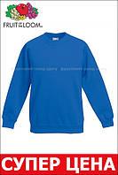 Детский классический реглан Ярко-синий Fruit Of The Loom 62-039-51 12-13