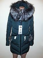 Куртка женская зимняя с мехом 17-126