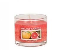 """Ароматическая свеча в стекле Village Candle """"Грейпфрут"""". 36 гр/ 10 часов"""