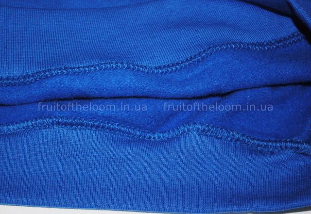 Ярко-синий детский классический реглан
