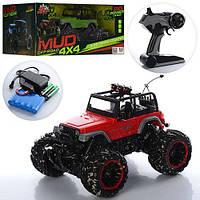 """Джип на управлении 4x4 """"Mud Off-Road"""", открытый верх, рез. колеса 333-MUD14B"""
