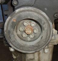 Шкив коленвала демпферный 6 ручейковVWPassat B6 2.0 16V TFSI2005-201006F105243J