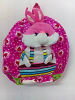 Детский рюкзак Зайчик розовый
