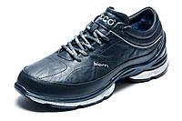 Зимние кроссовки Biom, мужские, на меху, темно-синие, р. 42 44 45