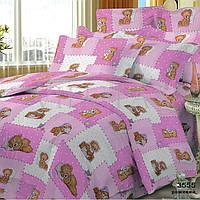 Детское постельное белье ТМ Viluta 3555 розовый
