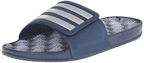 Массажные шлепанцы Adidas Performance Men's Adissage 2.0 M Stripes Sandals, Blue, р. 37,5