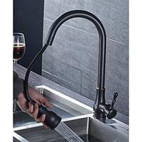 Смеситель для кухни Deco BL01, черный