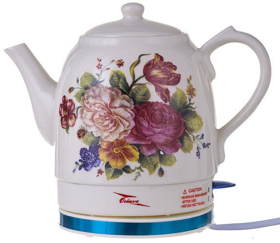 Електрочайник керамічний дисковий Octavo 1,8 л 1800 Вт чайник електричний