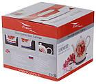 Электрочайник керамический дисковый Octavo 1,8 л 1800 Вт чайник электрический, фото 4