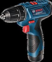 Шуруповерт аккумуляторный Bosch  GSR 120-Li Professional (06019F7001)