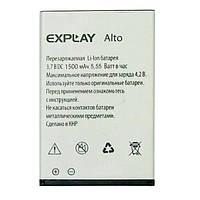 Оригинальная батарея Explay Alto