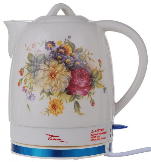 Електрочайник керамічний Octavo 2 л 1800 Вт чайник електричний