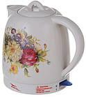 Електрочайник керамічний Octavo 2 л 1800 Вт чайник електричний, фото 2
