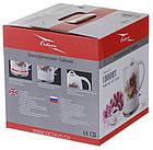 Електрочайник керамічний Octavo 2 л 1800 Вт чайник електричний, фото 4